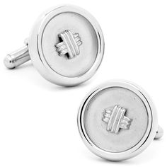 Silver Classic Button Cufflinks are finishing touch to a well-turned-out shirt cuff, our elegant silver cuff links are a forever classic.