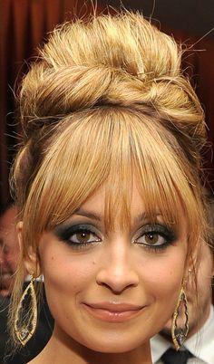 Nicole Richie Bouffant - Nicole Richie Looks - StyleBistro