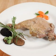 A tender, moist and flavorful duck leg, prepared the Gascony way - salted and slowly cooked in it's rendered fat for great duck rillette. Confit Duck Leg, Specialty Meats, Fat, Cooking, Breakfast, Ethnic Recipes, Kitchen, Morning Coffee, Kochen