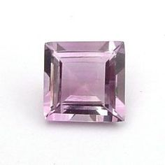 1.00 Ct. Natural Amethyst Loose Gemstone 6x6 MM Square