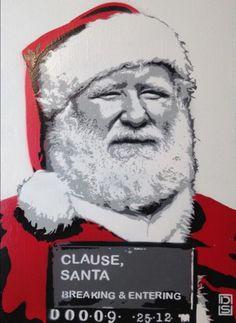 Joyeux Noël Street Art // DS