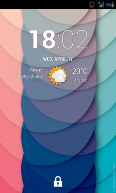 My Android lock screen #App #Interface #UI #UX #design