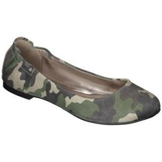 Camo flats. Seems far fetched but i might wear these for prom. Show some spirit. Plus u probably couldnt tell much with my cinderella dress