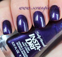 Sally Hansen Insta-Dri Fast Dry Nail Color in Purple Haste