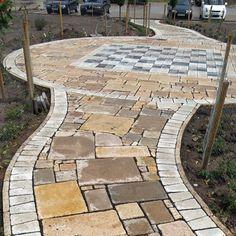 Kerti utak - Cikkek - Otti- burkolat,térkő,cementlap,kandalló,fedkő,lépcső,lábazat,kőkút