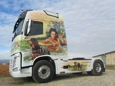 VOLVO Show Trucks, Big Rig Trucks, Custom Big Rigs, Custom Trucks, Volvo Trucks, Truck Drivers, Truck Paint, Gifts For Campers, Trucks And Girls