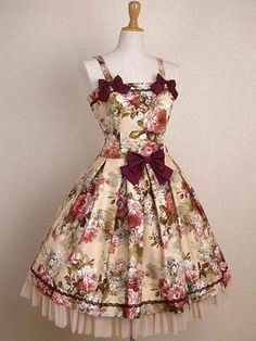 Mary Magdalene classic lolita dress. MUST alter my classic dress to look like this! It could use the trim, and I need to shorten it's sleeves.