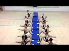 Some useful stretches for improving splits and oversplits for RG. Song: Shine Your Way by Owl City The Okanagan Rhythmic Gymnastics team (athletes, coaches a. Rhythmic Gymnastics Training, Gymnastics Stretches, Gymnastics Flexibility, Gymnastics Team, Gymnastics Workout, Dance Flexibility Stretches, Splits Stretches, Getting Back In Shape, Stay In Shape