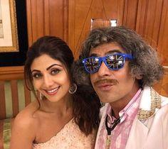 Shilpa Shetty with Sunil Grover, The Kapil Sharma Show