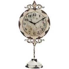 Cosette Table Clock