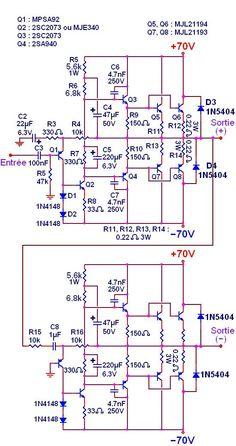 booster amplifier circuit transistor final pinterest circuits rh pinterest com audio booster schematic diagram Transformer Schematic Diagram