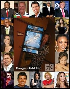"Celebrities that drink Kangen Water~ they want to be healthy and stay as young looking as possible: that is what an alkaline system will do. Must try my ""Beauty Water""!  and save money on all those gimicy expensive makeups!  here have questions.  www.knowtruthaboutwater.com"