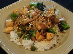 Chinese Take-Out at Home (Chicken or shrimp) Recipe | Just A Pinch Recipe.