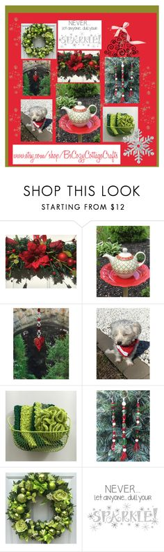 """Holiday Sparkle"" by imaginebaby ❤ liked on Polyvore featuring interior, interiors, interior design, home, home decor, interior decorating and Wall Pops!"