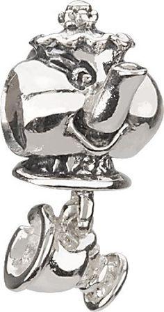 Disney Pandora Charms Chamilia Disney Mrs. Pott & Chip Bead