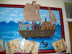 If you are thinking of a pirate-themed classroom next year, you have GOT to see this site!!!
