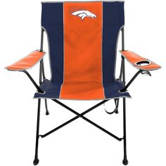 Denver Broncos Tailgate Quad Chair with Click & Carry Strap