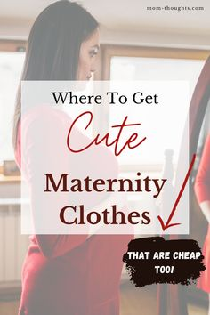 If you're looking for affordable maternity clothes, definitely check this out! There's so many inexpensive options out there. You can still feel confident during pregnancy! Affordable Maternity Clothes, Cute Maternity Outfits, Maternity Pants, Maternity Tops, Maternity Dresses, Maternity Clothing, Pregnancy Books, Pregnancy Wardrobe, Maternity Underwear