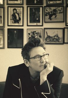 kd lang.  I've seen her perform 3 times :^)    she's amazing.
