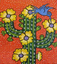 """Van Gogh Vino """"Flowering Saguaro"""""""