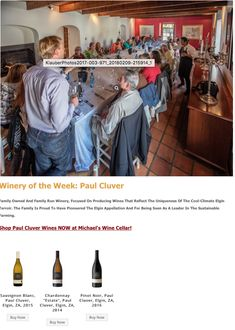 Family Owned And Family Run Winery, Focused On Producing Wines That Reflect The Uniqueness Of The Cool-Climate Elgin Terroir. The Family Is Proud To Have Pioneered The Elgin Appellation And For Being Seen As A Leader In The Sustainable Farming.  Shop Paul Cluver Wines NOW at Michael's Wine Cellar!