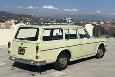 Bid for the chance to own a No Reserve: 1966 Volvo Wagon at auction with Bring a Trailer, the home of the best vintage and classic cars online. Classic Cars Online, Roof Rack, Vroom Vroom, Car Ins, Volvo, Van, Passion, Antique, Autos