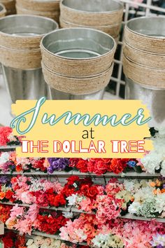 Summer at the Dollar Tree | I haven't been to the Dollar Tree in a HOT MINUTE… so I was due a visit!!! I found LOTS of new things that I haven't seen before, and a couple oldies- but goodies! I decided I needed to share with y'all what I found, because I'm a good friend… and good friends don't let other friends miss out on amazing finds at the good ole' DT, right?!?! | Re-Fabbed #DollarTree #SummerFinds #BudgetDecor Dollar Tree Finds, Dollar Tree Decor, Dollar Tree Crafts, Vintage Perfume Bottles, Antique Bottles, Antique Glass, Mason Jar Candy, Crafts To Make, Diy Crafts