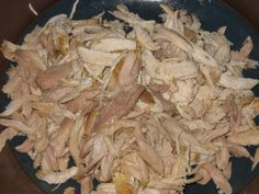 40 Recipes for shredded chicken...and now that I know to use the kitchen aid to shred it...easy squeezy!