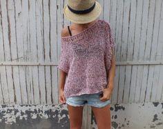 Verano recortada suéter playa cubierta por boho inspira poncho boho chic