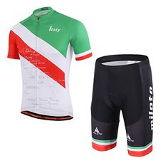 c49e11e27 Uriah Men s Cycling Jersey and Shorts Sets Short Sleeve Reflective Blue  Hill Size S(CN)