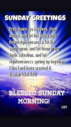 Sunday blessings, god's blessings for a beautiful day and week Good Morning Bible Quotes, Happy Sunday Quotes, Blessed Quotes, Blessed Sunday Morning, Blessed Friday, God Prayer, Prayer Quotes, Inspirational Bible Quotes, Biblical Quotes