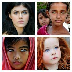 Beautiful Eyes Collage.