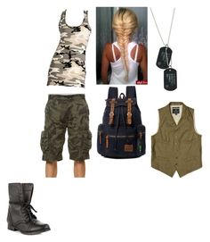 """""""Seth Rollins"""" by kayla-860 ❤ liked on Polyvore featuring CO, Kite, Zigi Soho and Nigel Cabourn"""