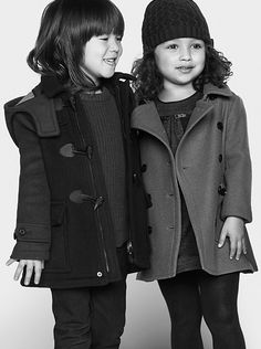 Playful outerwear and warm knits from Burberry Childrenswear for A/W13