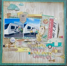 Layout by Julie using Crate Paper Journey