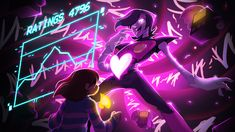 UNDERTALE, by indie developer Toby Fox, is a video game for PC, Vita, and Switch. Undertale is about a child who falls into an underworld. Mettaton Ex, Frisk, Undertale Au, Death By Glamour, Wallpaper Bonitos, Youtube Thumbnail, Toby Fox, Fan Art, Bad Timing