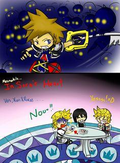 In Sora's Heart by PhoneCast.deviantart.com on @deviantART
