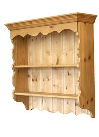 Pine Wall Shelf.