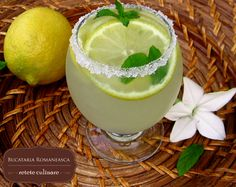 Limonada Juice Drinks, Honeydew, Panna Cotta, Pudding, Fruit, Drink Recipes, Ethnic Recipes, Desserts, Food