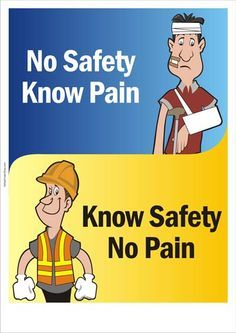 Safety Slogans: Work safely, somebody wants you back home!, You are the key to your safety, catchy safety slogans: Be alert-your wife needs you, Safety is the best tool