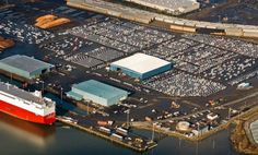 Port of Grays Harbor Prepares to Export 100,000th Vehicle - Aberdeen, WA - As the Port of Grays Harbor preps to ship their 100,000 auto next week, Lakeside Industries is prepping to pave about 12 acres of parking lot to hold that many at once for the port