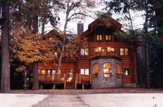 handcrafted log homes canada - Google Search