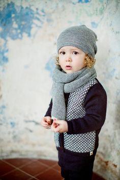 Light alpaca Scarf / grey / white wool unisex Scarf / girl / boy / toddler / children / kids / baby by Ingugu on Etsy