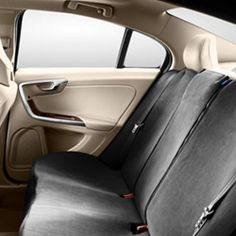 Volvo S60 seat cover for back seat Back Seat, Rear Seat, Volvo S60, Volvo Cars, Truck Parts, Scandinavian Design, Bear, Accessories