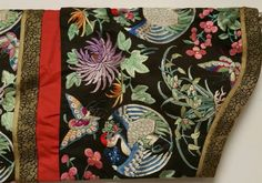 Marvelous Antique Chinese Imperial Silk Crane Dragon Robe Very Fine Details   eBay