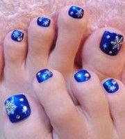 Christmas Toe Nail Design Nails In 2018 Pinterest Nail Designs