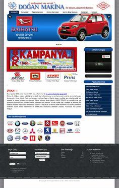 Dogan Machinery Auto Service Co. Web Design