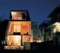 tiny houses | Japanese Architecture, Small Houses | Small house by Kazuyo Sejima ...