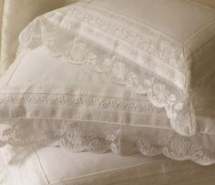 Ralph Lauren Home #Upper_Fifth Collection 05 - Lace pillows