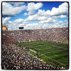 Notre Dame Stadium in South Bend, IN